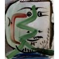 Портрет бородатого человека,1964 - Пикассо, Пабло
