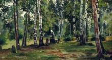 Березовая роща, 1880-1890-е - Шишкин, Иван Иванович