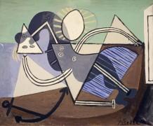 Обнаженная женщина на пляже - Пикассо, Пабло