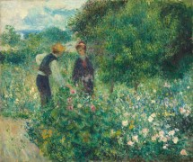 Собирание цветов - Ренуар, Пьер Огюст