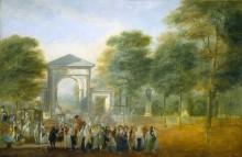 Ботанический сад, 1790 - Парет