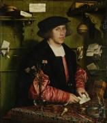 Портрет купца Георга Гисце - Гольбейн, Ганс