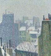Крыши Парижа под снегом, 1902 - Эрбен, Огюст