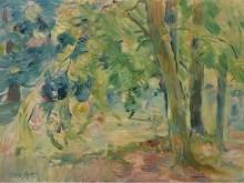 Лес Мениль, 1892 - Моризо, Берта