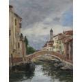Малый канал в Венеции, 1895 - Будэн, Эжен