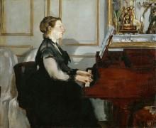 Мадам Мане за пианино - Мане, Эдуард