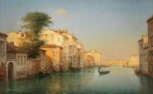 Канал в Венеции - Бувар, Антуан