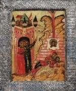 Чудо от иконы Спас Нерукотворный (ок.1650)