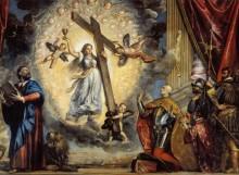 Дож Антонио Гримани, поклоняющийся Религии - Тициан Вечеллио