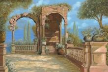 Терраса у лагуны - Борелли, Гвидо (20 век)