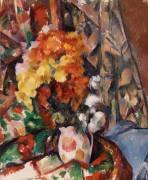 Ваза с цветами - Сезанн, Поль