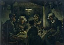 Едоки картофеля (The Potato Eaters), 1885 - Гог, Винсент ван