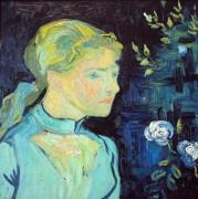 Портрет Аделины Раву (Portrait of Mademoiselle Ravoux), 1890 - Гог, Винсент ван