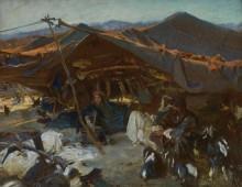 Лагерь бедуинов - Сарджент, Джон Сингер