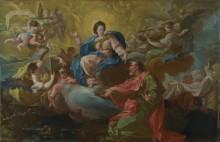 Девы посещают Святого Франциска - Байа, Франциско