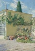 Оранжерея виллы Чейза во Флоренции, 1910 - Чейз, Уильям Меррит