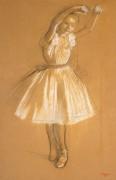 Юная танцовщица - Дега, Эдгар