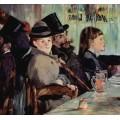 В кафе - Мане, Эдуард