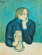 Портрет поэта Сабартеса - Пикассо, Пабло