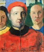 Тройной портрет - Малевич, Казимир