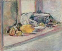 Синяя чаша и лимон - Матисс, Анри