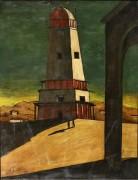 Большая башня - Кирико, Джорджо де