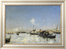 Остров Сан-Джорджо в Венеции, 1872 - Болдини, Джованни