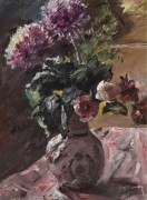 Хризантемы и розы в кувшине, 1917 - Коринт, Ловис