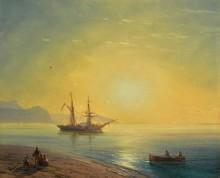 Закат в Крыму - Айвазовский, Иван Константинович