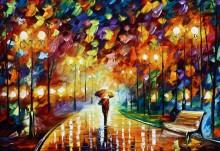 Дождь в парке - Афремов, Леонид