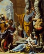 Проповедь святого Петра в Иерусалиме - Пурсон, Шарль