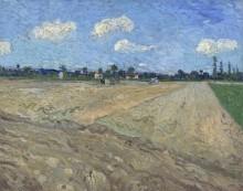 Вспаханное поле (The Ploughed Field), 1888 - Гог, Винсент ван