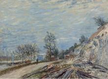 По пути в Море, 1882 - Сислей, Альфред
