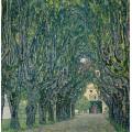 Парковая аллея дворца Каммер - Климт, Густав