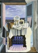 Натюрморт у окна - Пикассо, Пабло