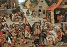 Дела милосердия - Брейгель, Питер (Младший)
