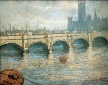 Мост над Темзой - Моне, Клод