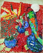 Натюрморт с попугаем - Делоне, Роберт