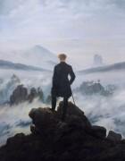 Странник над туманом, 1817-1818 - Фридрих, Каспар Давид