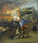 Святой Михаил и дракон - Рафаэль, Санти