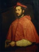 Епископ Алессандро Фарнезе - Тициан Вечеллио