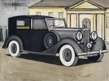 Роллс-Ройс 1937 - Бюффе, Бернар