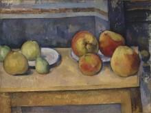 Натюрморт с яблоками и грушами - Сезанн, Поль