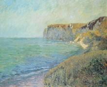 Скалы в Сен-Жуэне, Нормандия - Луазо, Гюстав