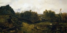 Пейзаж в окрестностях Гранвиля - Руссо, Теодор
