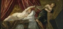 Иосиф и жена Путифара - Тинторетто (Якопо Робусти)