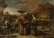Ревекка и Элиэзер у колодца - Экхаут, Гербранд ван ден