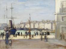 Порт Марселя, 1918 - Андре, Альберт