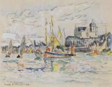 Порт Ле-Сабль-д'Олон, 1913 - Синьяк, Поль