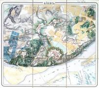 Карта Киевской крепости. 1833 г